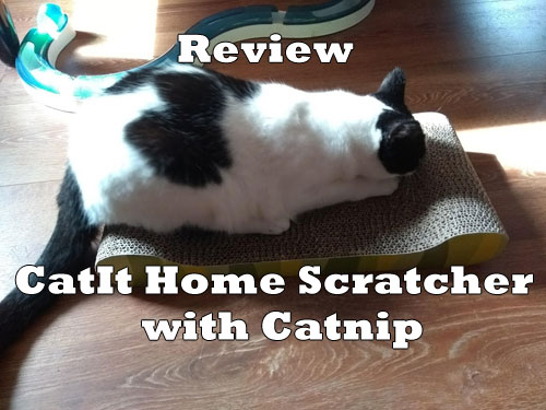 Review CatIt Home Scratcher With Catnip