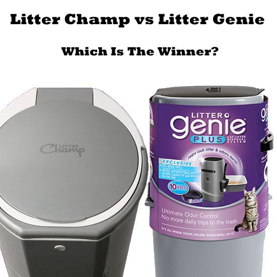Litter Champ vs Litter Genie - Which Is The Winner?